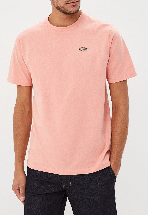 мужская спортивные футболка dickies, розовая