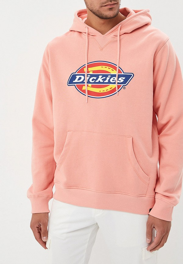 мужские худи dickies, розовые