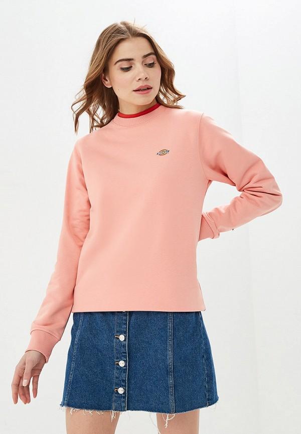 женский свитшот dickies, розовый