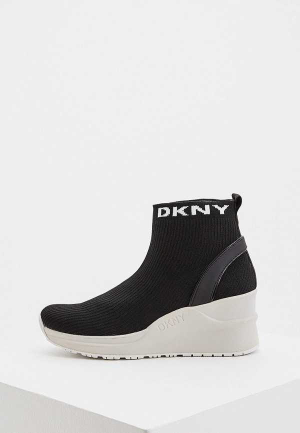 Кеды на танкетке DKNY DKNY DK001AWGZRC9 кеды на танкетке dkny dkny dk001awbyoq9