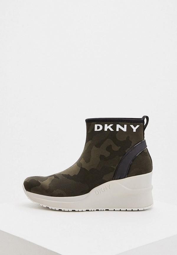 женские кроссовки dkny, хаки