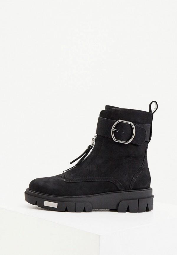 женские ботинки dkny, черные