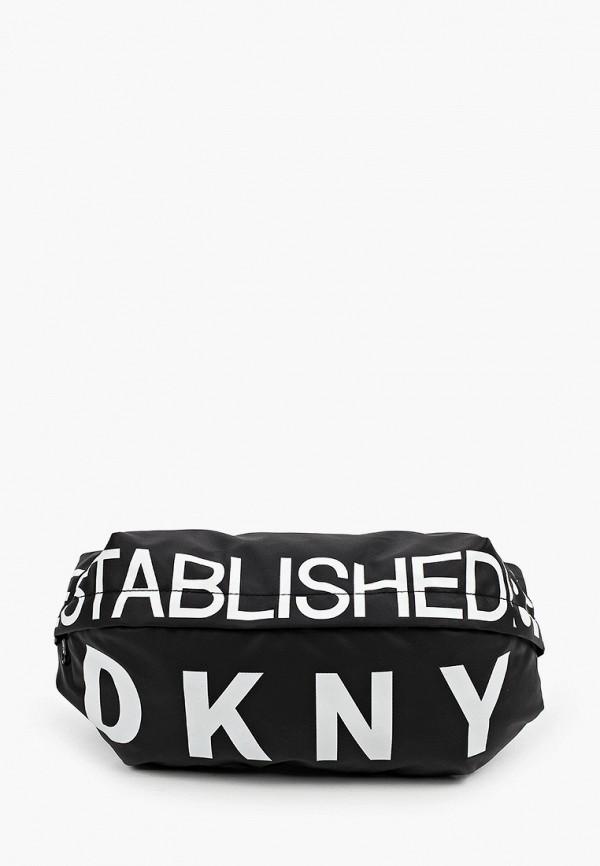 сумка dkny для мальчика, черная