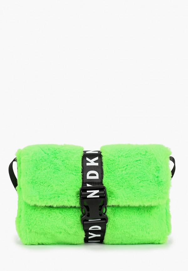 сумка dkny для девочки, зеленая
