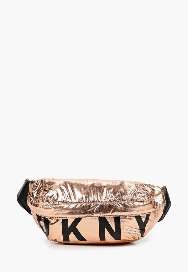 сумка dkny для девочки, золотая