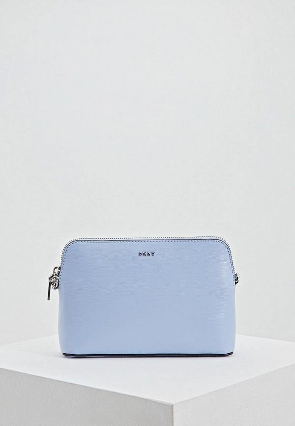 женская сумка dkny, голубая
