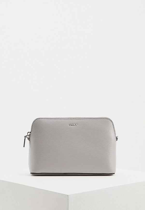 женская сумка dkny, серая