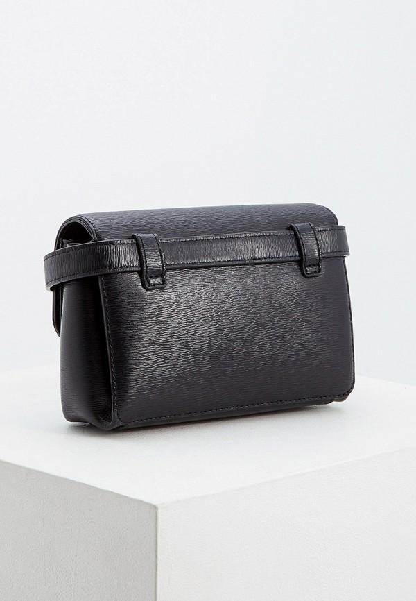Фото 2 - Сумку поясная DKNY черного цвета