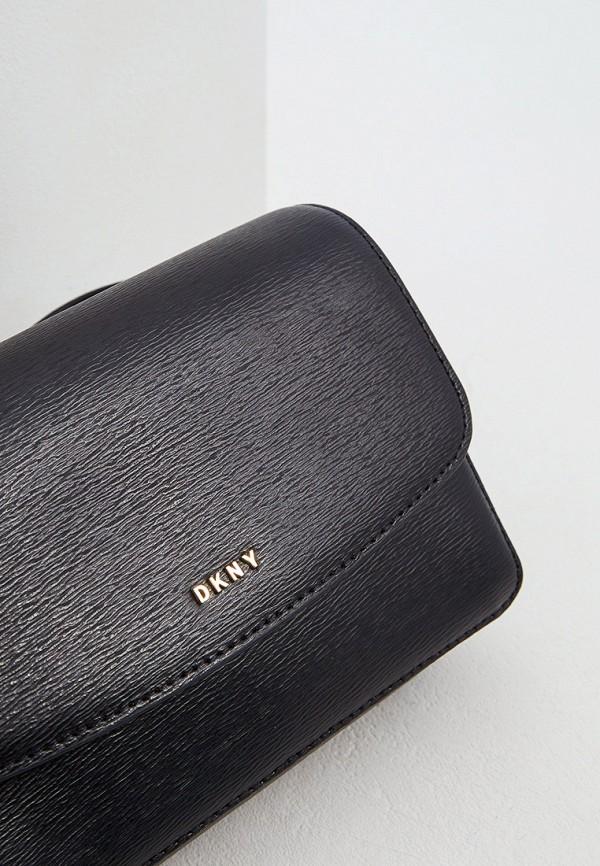 Фото 3 - Сумку поясная DKNY черного цвета