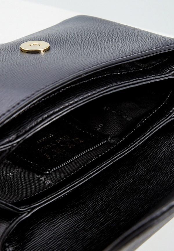 Фото 4 - Сумку поясная DKNY черного цвета