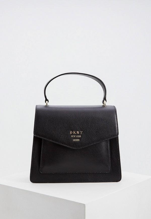 женская сумка dkny, черная