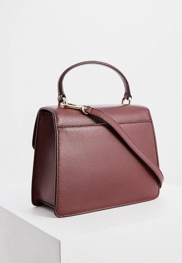 Фото 2 - женскую сумку DKNY бордового цвета