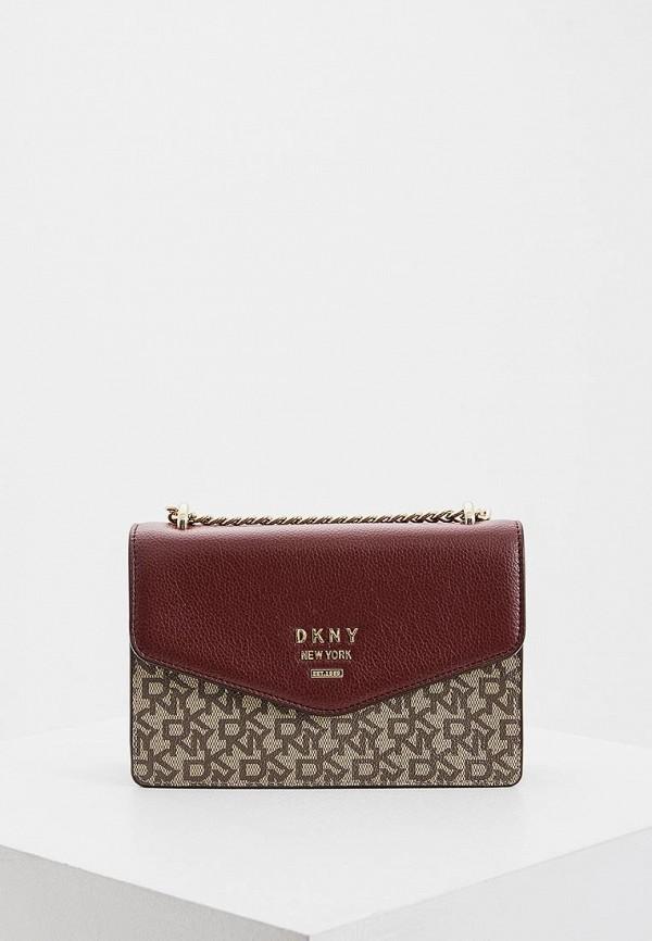 женская сумка dkny, разноцветная
