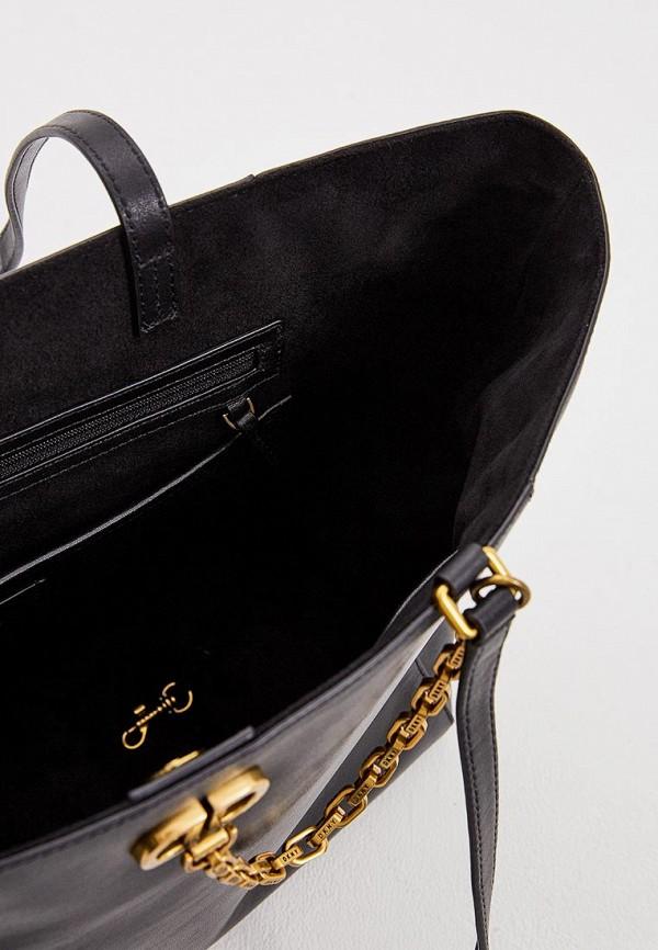 Фото 4 - женскую сумку DKNY черного цвета