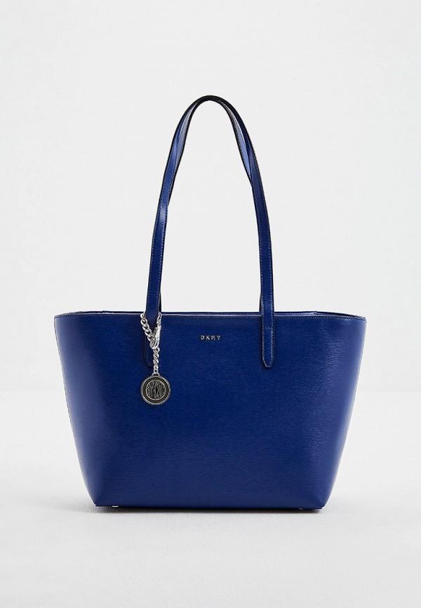 женская сумка dkny, синяя