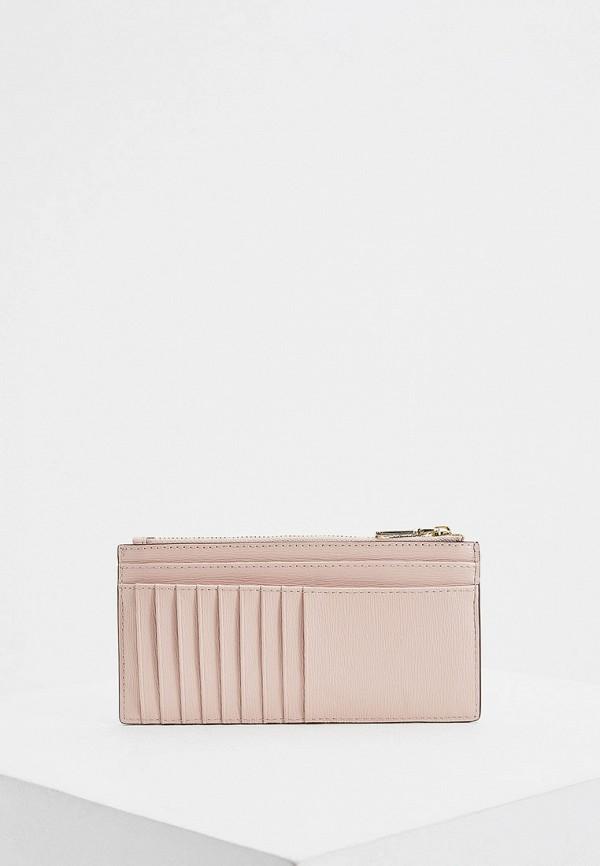 женский кошелёк dkny, розовый