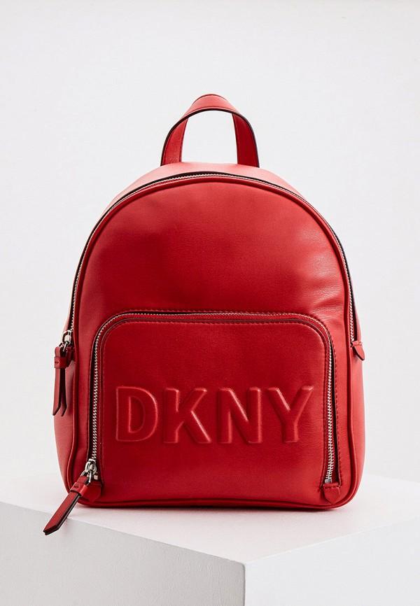 женский рюкзак dkny, красный