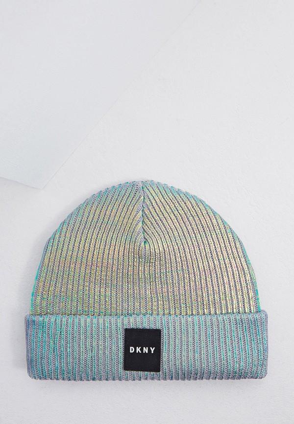 шапка dkny для девочки, разноцветная