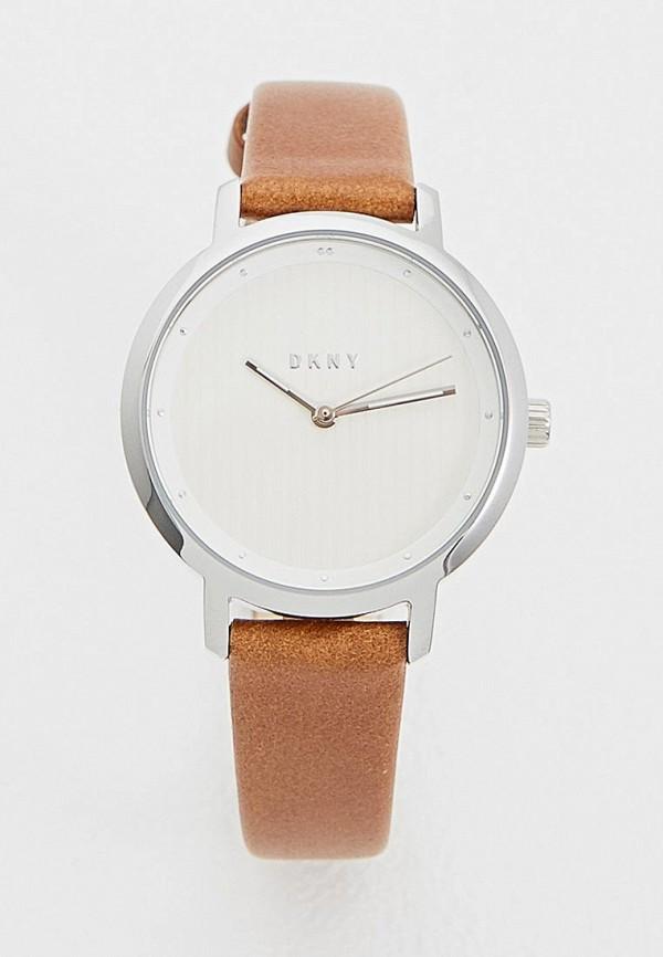 женские часы dkny, коричневые