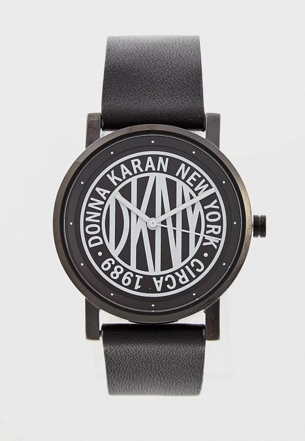 женские часы dkny, черные