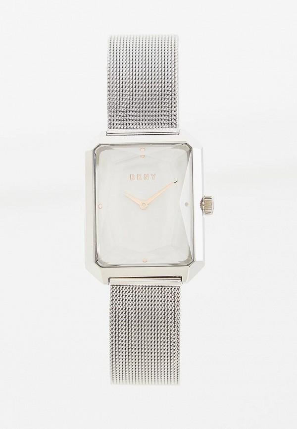 женские часы dkny, серебряные