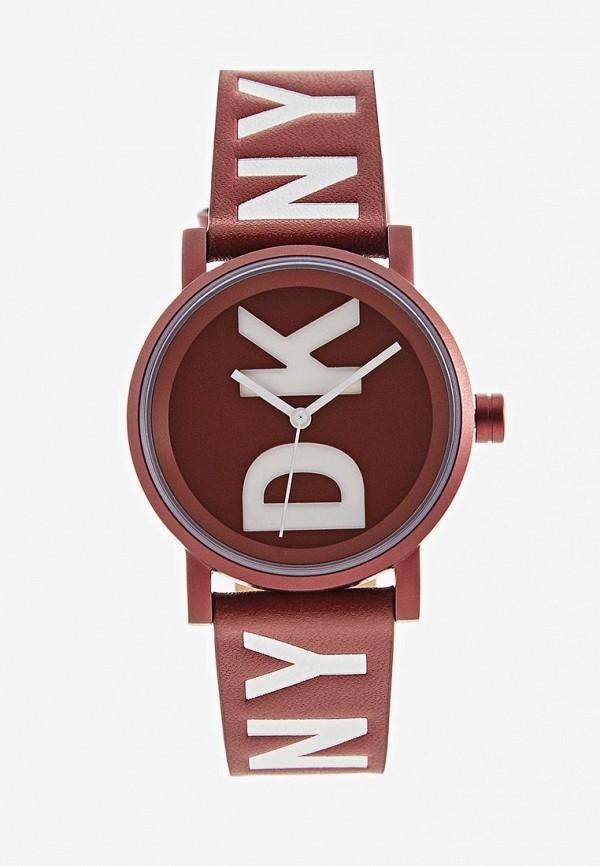 женские часы dkny, бордовые