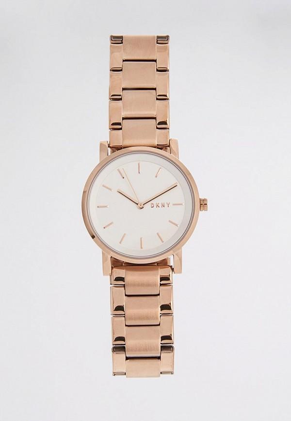 женские часы dkny, золотые