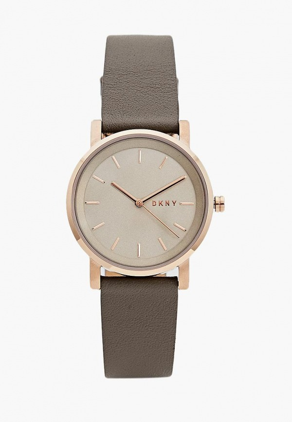 женские часы dkny, серые
