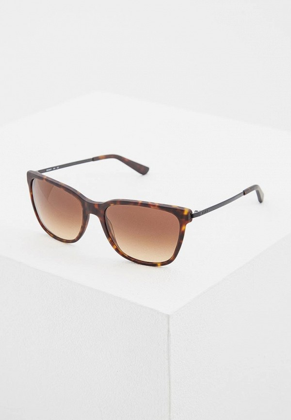 женские солнцезащитные очки dkny, коричневые