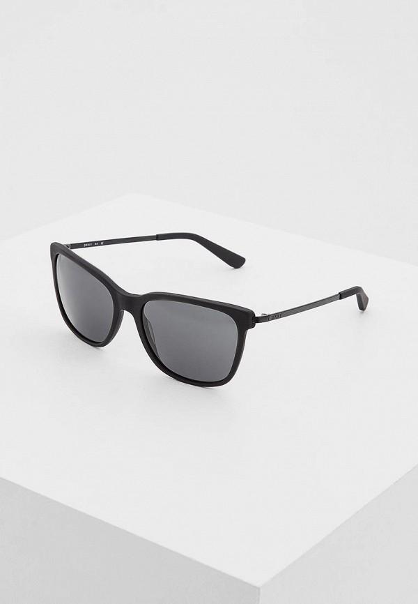 женские солнцезащитные очки dkny, черные