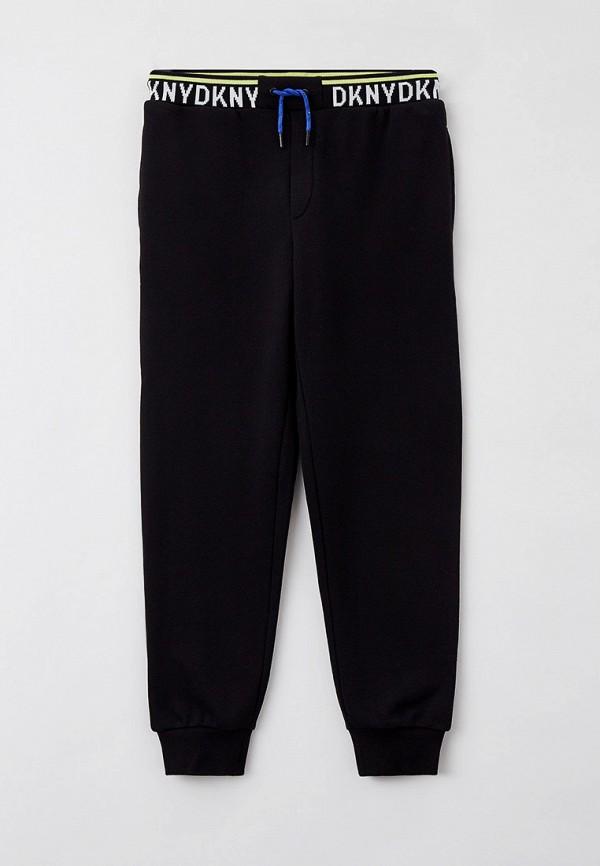 спортивные брюки dkny для мальчика, черные