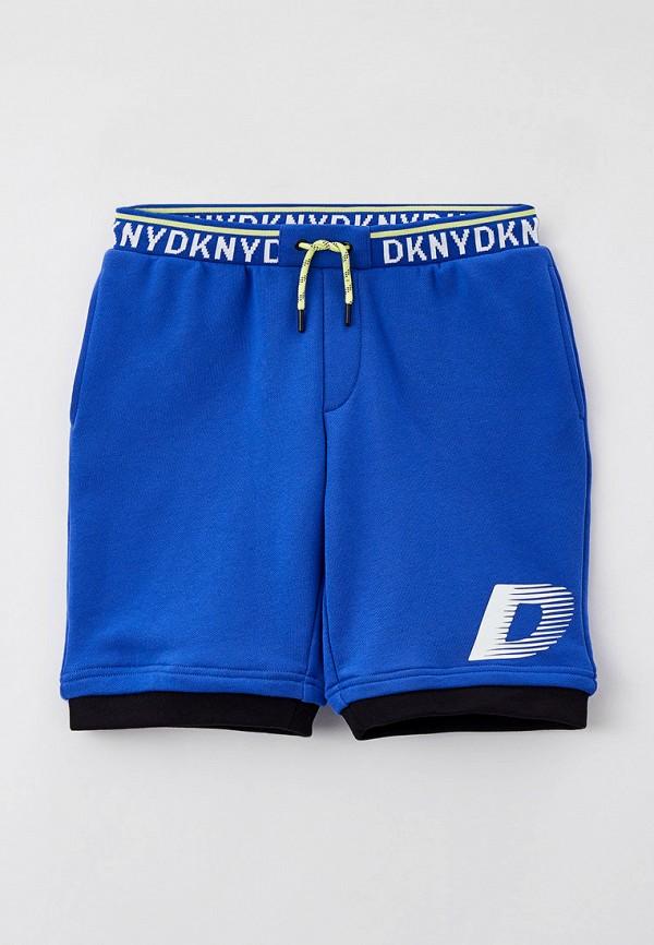спортивные шорты dkny для мальчика, синие