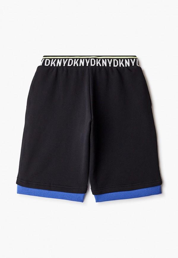 Шорты для мальчика спортивные DKNY D24731 Фото 2