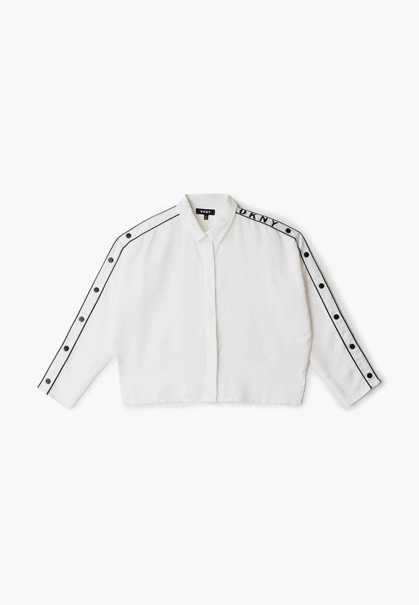 блузка dkny для девочки, белая