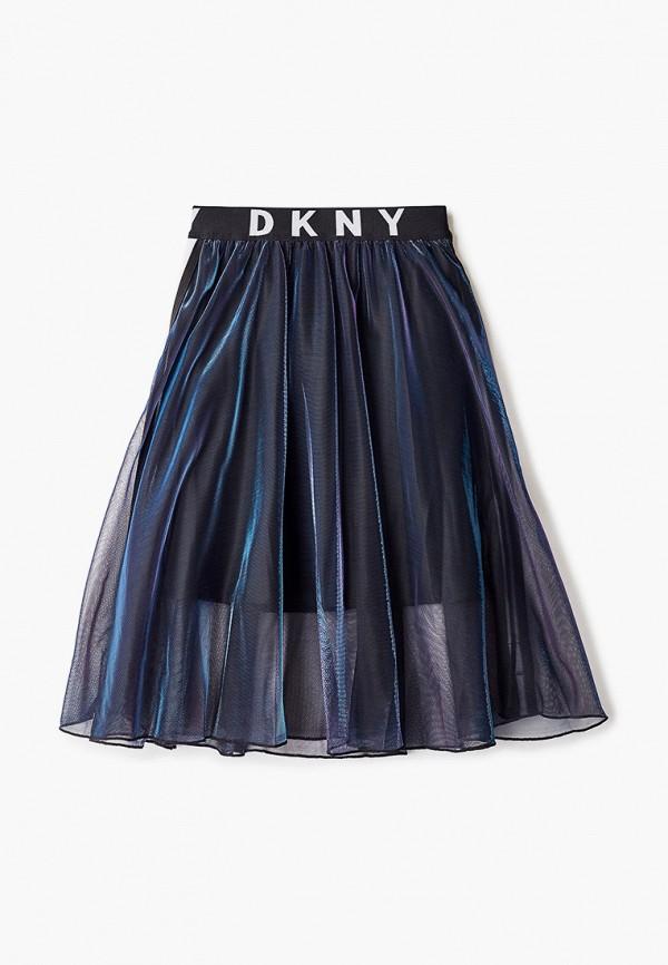 юбка dkny для девочки, разноцветная