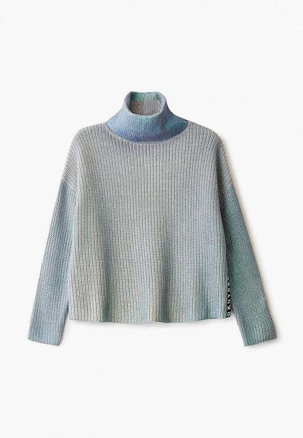 свитер dkny для девочки, голубой