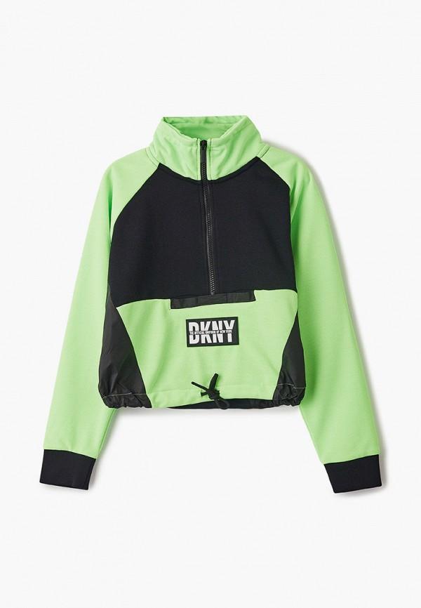 олимпийка dkny для девочки, зеленая