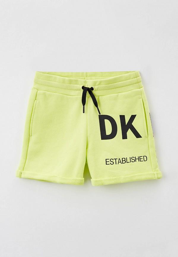 спортивные шорты dkny для девочки, зеленые