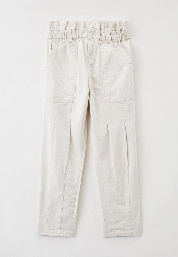 брюки dkny для девочки, бежевые