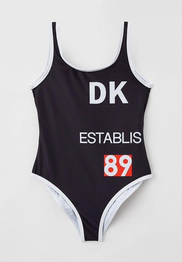 купальник dkny для девочки, черный