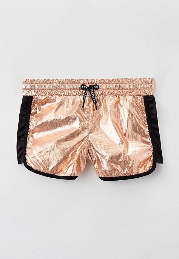 спортивные шорты dkny для девочки, золотые