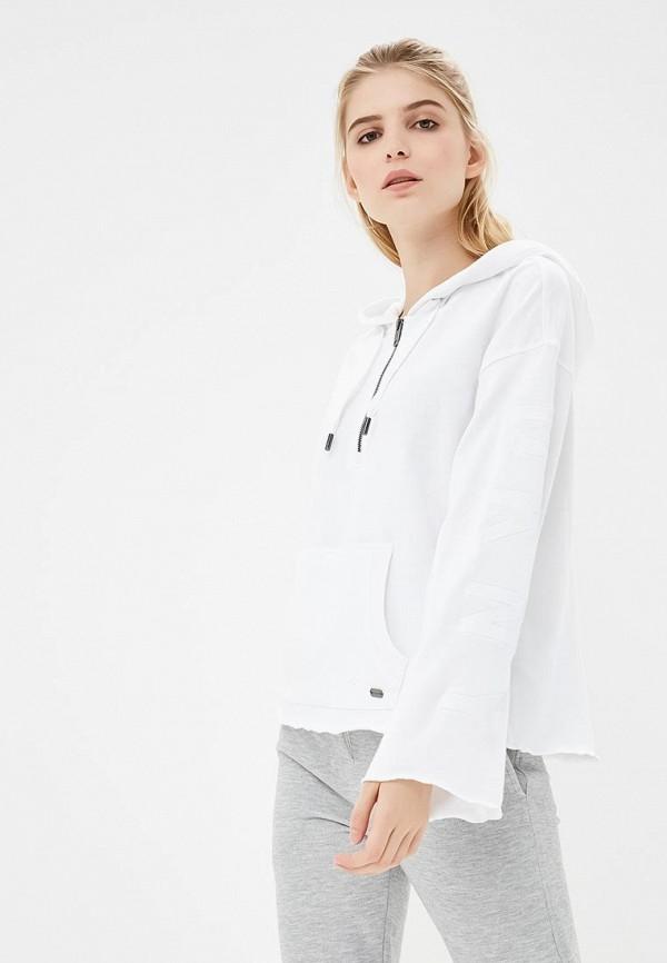 Купить Толстовка DKNY, PERFORMANCE, dk001ewcatj2, белый, Осень-зима 2018/2019