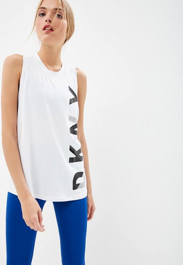 Купить Майка DKNY, PERFORMANCE, dk001ewcatj6, белый, Осень-зима 2018/2019