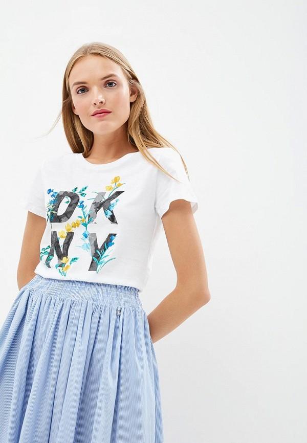 Футболка DKNY DKNY DK001EWCNSO5 футболка детская dkny q01548713
