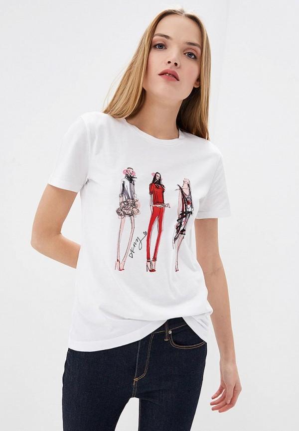 Футболка DKNY DKNY DK001EWDUXY2 cara d x dkny футболка