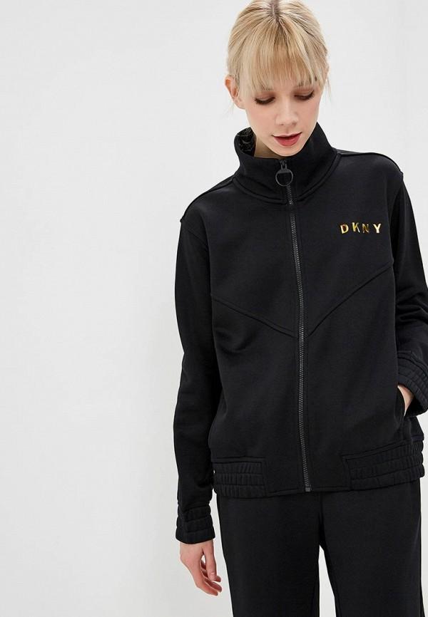 женская олимпийка dkny, черная