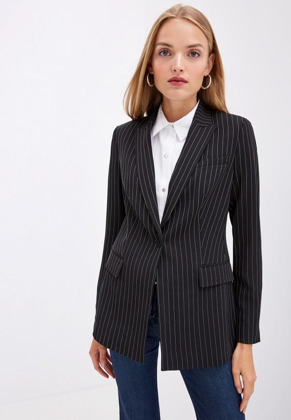 женский пиджак dkny, черный