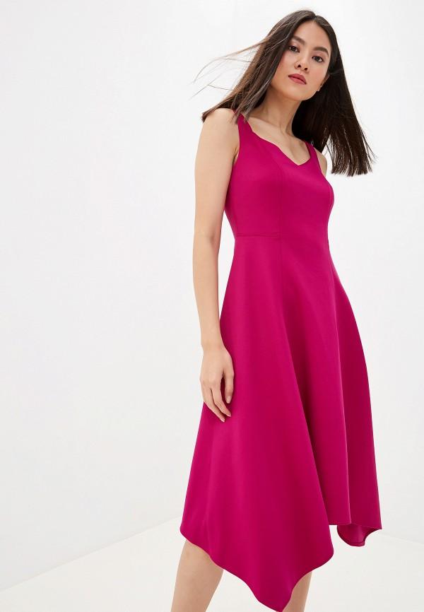 женское повседневные платье dkny, розовое