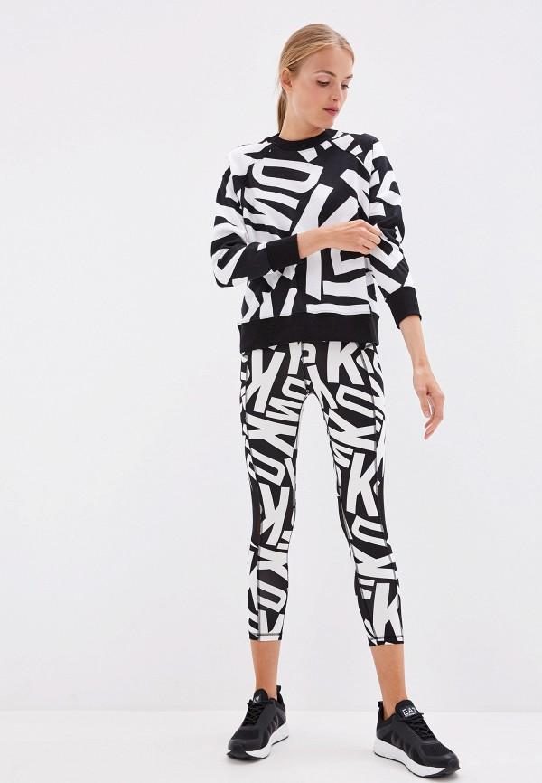 Фото 2 - Свитшот DKNY белого цвета