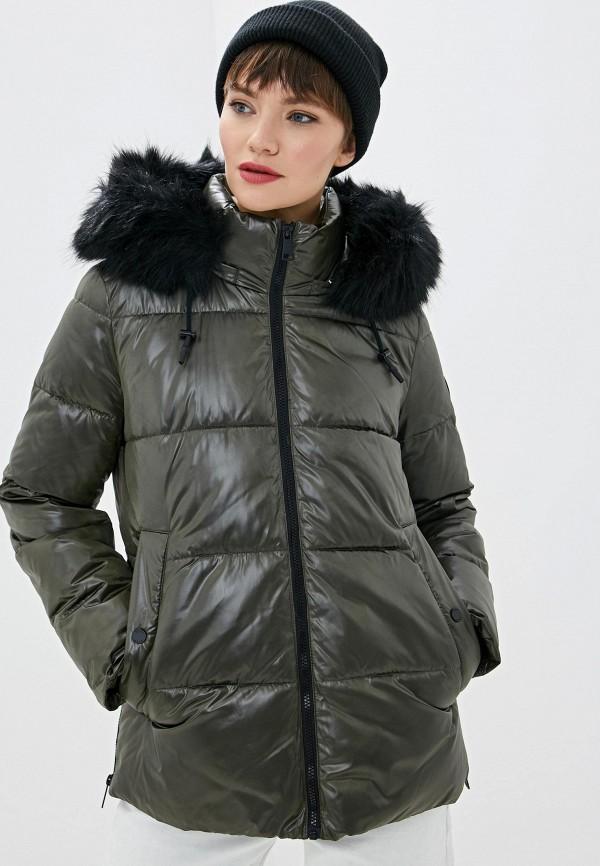 женская куртка dkny, хаки